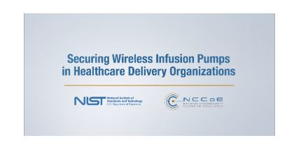 Securing Wireless Infusion Pumps in Healthcare