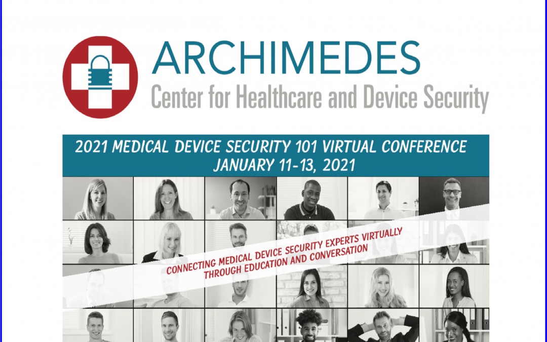 Medical Device Security 101 Virtual Conference